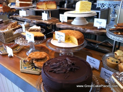 Cafe Lucca cakes in Bath