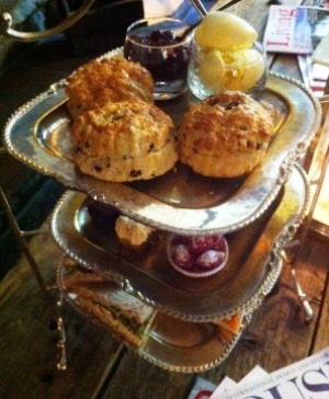 Pheasant Hotel afternoon tea
