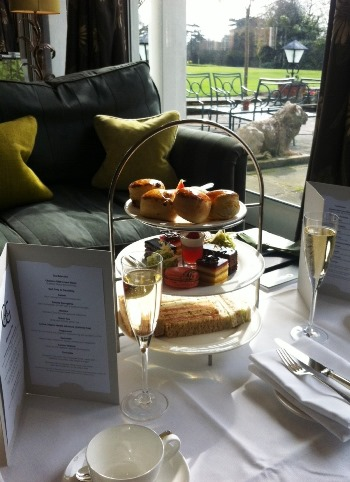 Chewton Glen afternoon tea