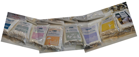 Packets of Icing for Cake Decorating