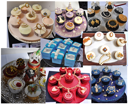 Jewellery Box Cupcakes