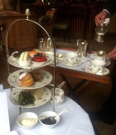 Lucknam Park afternoon tea