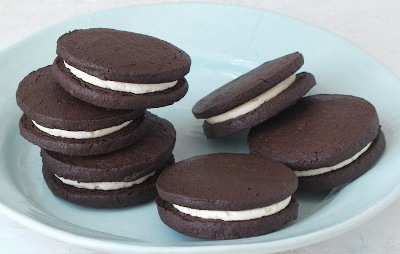 Recipe image for Chocolate Oreos Flourtown Bakery